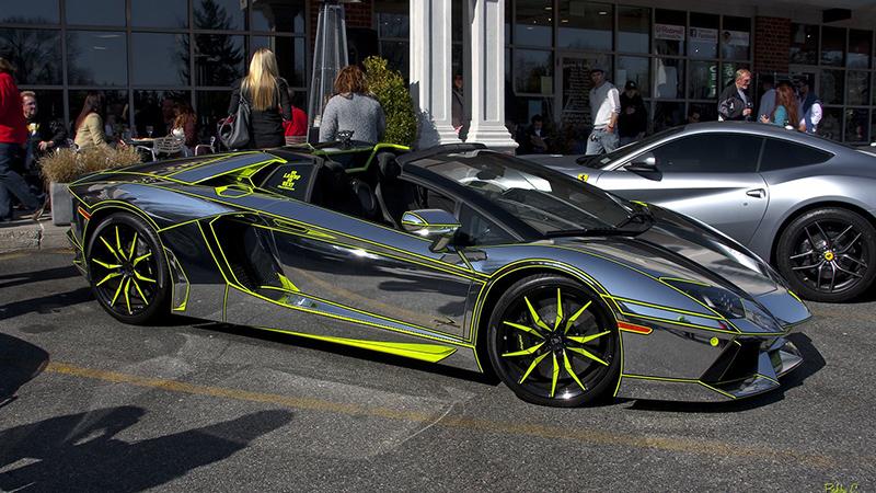 Lamborghini_Avantador chrome